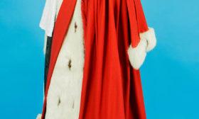 Franse magistraat toga