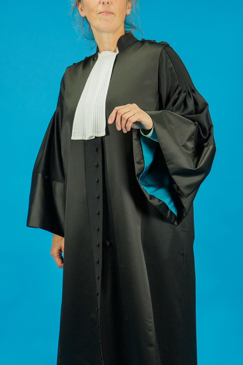 Toga Rechter dames model vrouwelijk rechter